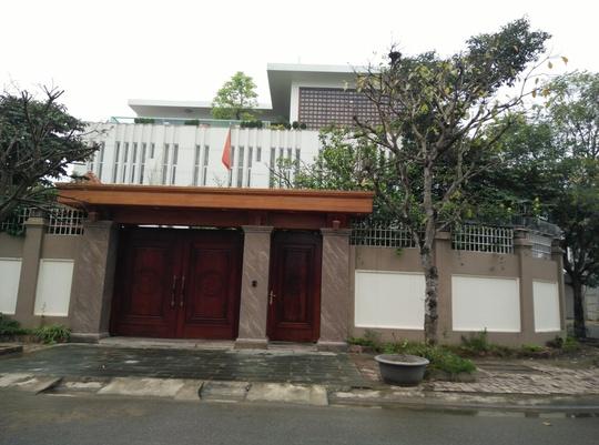 Căn biệt thự tại Khu đô thị Bình Minh, phường Đông Hương, TP Thanh Hóa, được cho là của bà Trần Vũ Quỳnh Anh