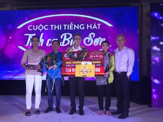 Hướng dẫn viên du lịch đoạt giải Quán quân Tình ca Bắc Sơn - Ảnh 3.