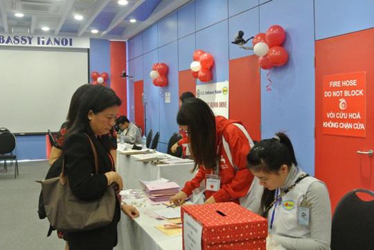 Đăng ký tham gia hiến máu