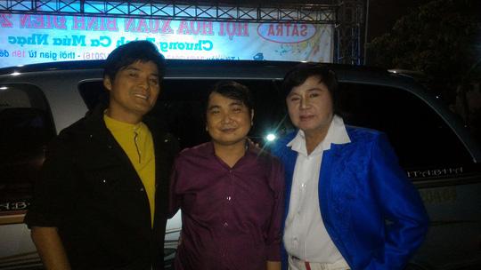 Ca sĩ Nhật Linh gặp lại ca sĩ Chế Thanh và NS Châu Thanh