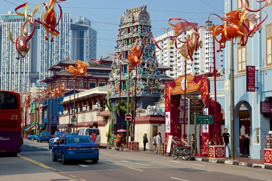 Khám phá hai ngôi đền Ấn Độ lớn tại Singapore - Ảnh 11.