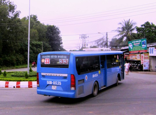 Bắt đầu thay máu xe buýt ở TP HCM - Ảnh 1.