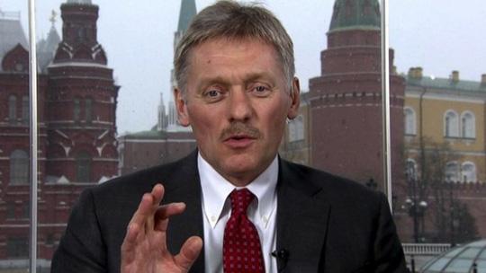 Ông Dmitry Peskov, cố vấn của Tổng thống Putin, phát biểu trong chương trình This Week của Đài ABC. Ảnh: ABC News