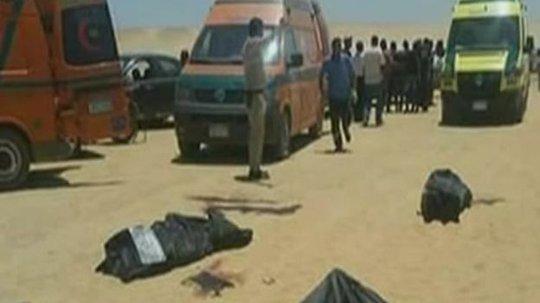 Thảm sát trên xe buýt Ai Cập, 24 người thiệt mạng - Ảnh 1.