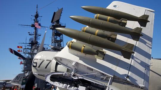 Vũ khí từ những máy bay chiến đấu (Ảnh: internet)