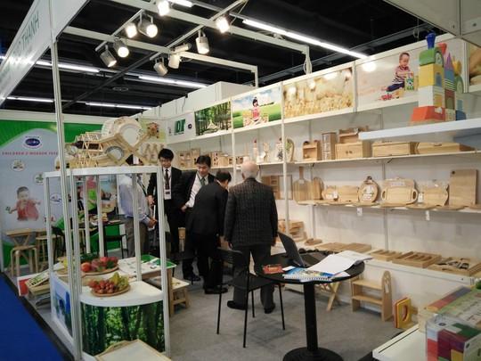 Gỗ Đức Thành tham gia hội chợ Ambiente - Đức