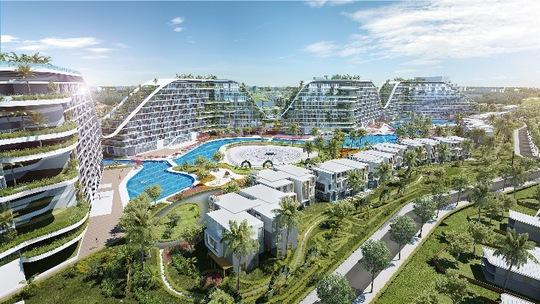 Khu nghỉ dưỡng đầu tiên đạt tiêu chuẩn xanh LEED bên bờ biển Quy Nhơn - Ảnh 1.