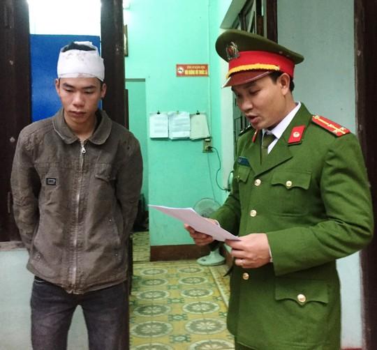 Đối tượng Nguyễn Trần Dũng được xác định là thủ phậm dùng dao gây ra vụ giết người – ảnh Tr.Tuấn