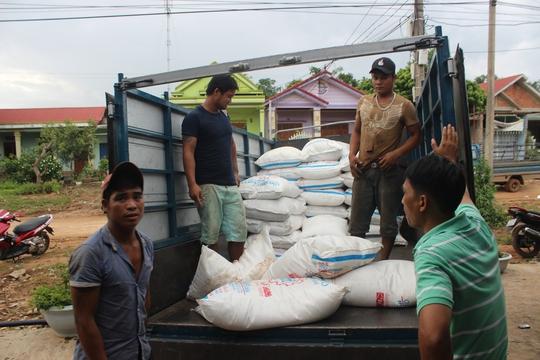 Bắt giữ hơn 8 tấn đường lậu ở vùng biên Lao Bảo - Ảnh 1.