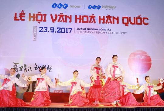 Ngập tràn sắc màu Hàn Quốc trong lễ hội văn hóa tại FLC Sầm Sơn - Ảnh 1.