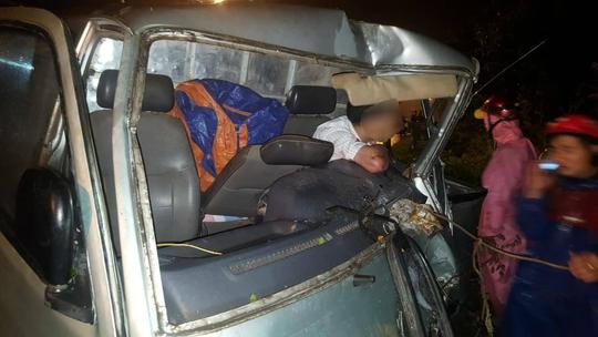 Ô tô tông xe máy văng gần 30m, khiến 1 người tử vong - Ảnh 1.
