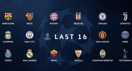 Sẽ sớm có đại chiến ở vòng 1/16 Champions League - Ảnh 2.