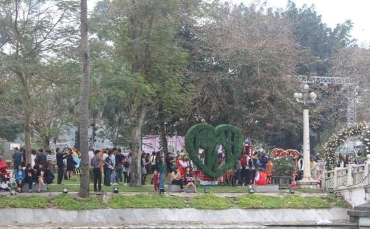 Rất đông người dân yêu thích hoa hồng đến với Lễ hội