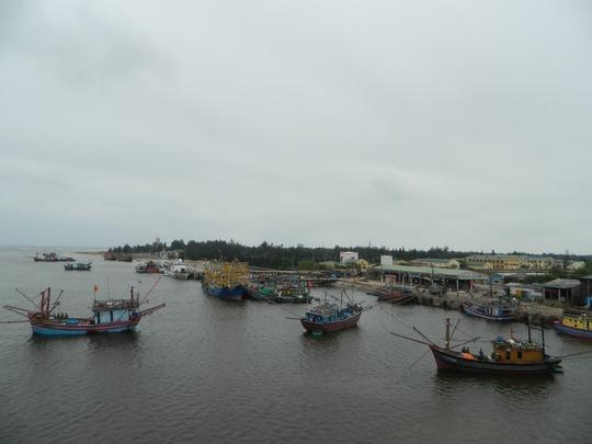 Một góc Cảng Cửa Việt