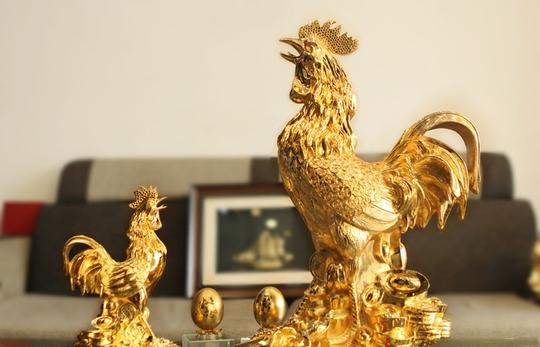 Những lưu ý khi bày tượng gà trống theo phong thủy năm Đinh Dậu