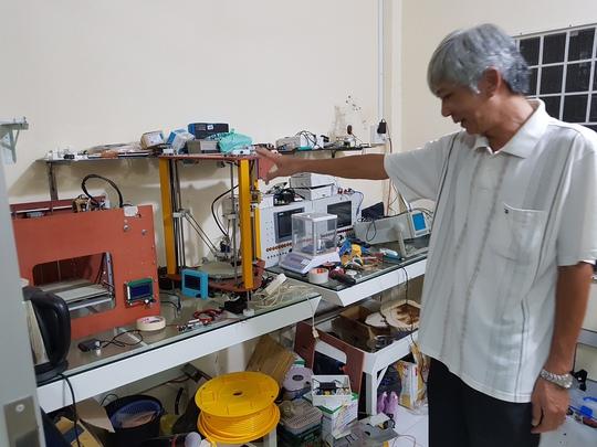 Một số thiết bị được ông Thanh đầu tư để cho sinh viên thực tập