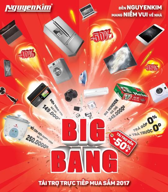 Big Bang 2017: Khởi động mùa mua sắm lớn nhất trong năm - Ảnh 1.