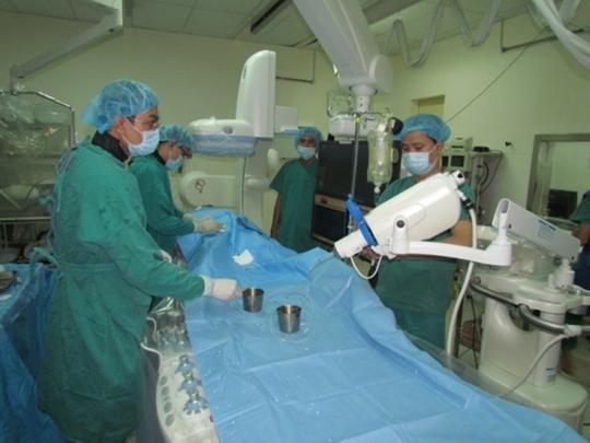 Bệnh viện Nhân dân 115 (TP HCM) xử lý ca phì đại tiền liệt tuyến bằng kỹ thuật mới