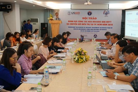 Hội nghị bàn giải pháp khám chữa bệnh BHYT cho bệnh nhân HIV/AIDS trên địa bàn TP HCM