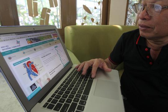 Nên tìm kiếm thông tin chăm sóc sức khỏe từ những nguồn uy tín, ví dụ website chính thức của các bệnh việnẢnh: HOÀNG TRIỀU