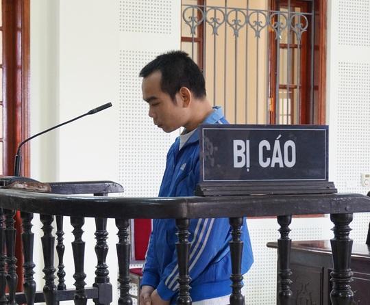 Bị cáo Lương tại phiên tòa