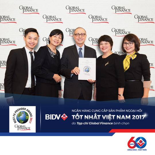 """BIDV là """"ngân hàng cung cấp dịch vụ ngoại tệ tốt nhất Việt Nam"""" - Ảnh 1."""