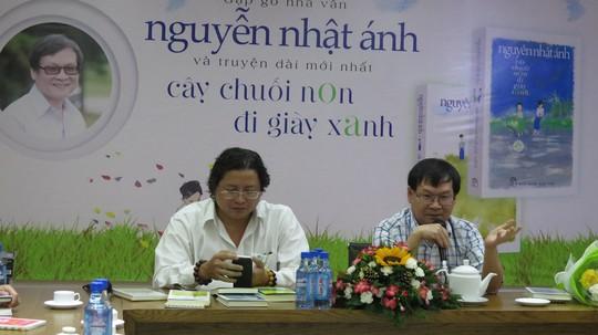 Nguyễn Nhật Ánh ra mắt sách mới in 170.000 bản - Ảnh 1.