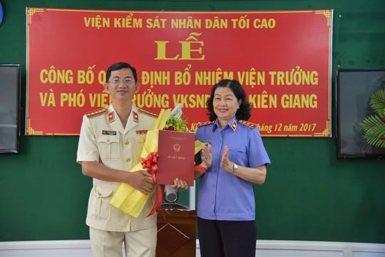VKSND tỉnh Kiên Giang có 3 lãnh đạo mới - Ảnh 1.