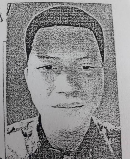 Ảnh truy nã đối tượng Trần Văn Lý