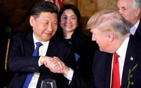 Tổng thống Trump và Chủ tịch Tập Cận Bình. Ảnh: AP