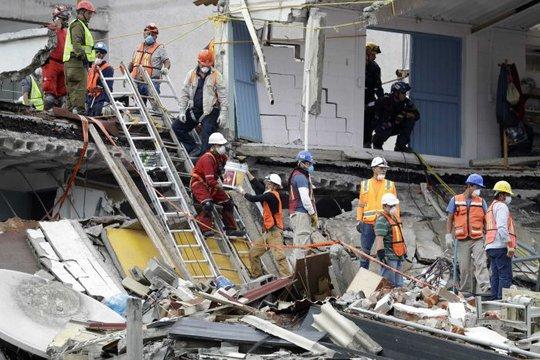 Động đất Mexico: Được cứu sống nhờ… tin nhắn gửi chồng - Ảnh 1.