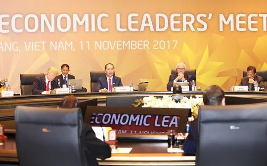 Chủ tịch nước Trần Đại Quang chủ trì Hội nghị cấp cao APEC lần thứ 25 - Ảnh: VGP