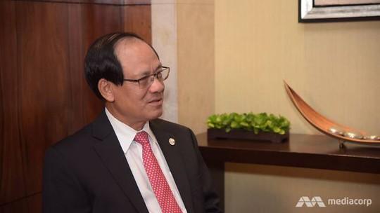 Ông Lê Lương Minh. Ảnh: Mediacorp