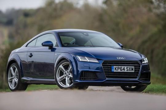 Mẫu siêu xe Audi TT giảm giá sâu trong tháng 4
