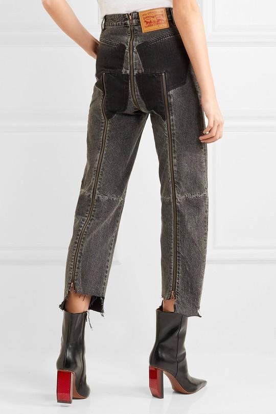 Mẫu quần jean độc đáo dành cho bạn nữ cá tính - Ảnh 5.