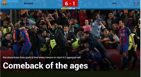 Tin Barca chiến thắng tràn ngập trên các báo Anh, Đức, Tây Ban Nha, Pháp...
