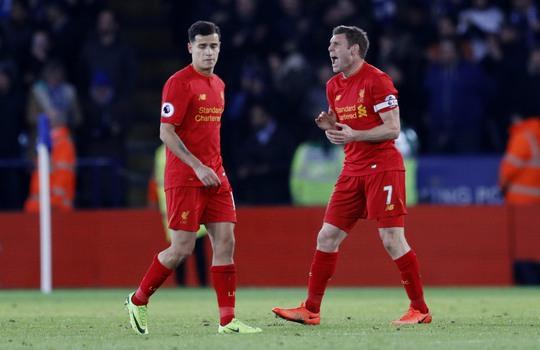 Liverpool chơi kém với các đội nhóm cuối nhưng bất bại trước các đối thủ tốp 6 Ảnh: REUTERS