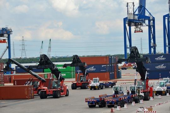 Đến năm 2025, phấn đấu tỉ trọng ngành logistics đạt 8%-10% GDP Ảnh: Tấn Thạnh