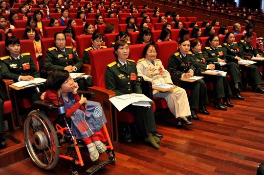 Các đại biểu tham dự phiên khai mạc Đại hội Đại biểu phụ nữ toàn quốc lần XIIẢnh: TTXVN