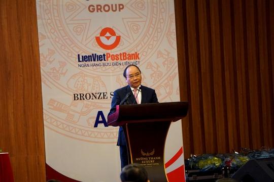 Thủ tướng Nguyễn Xuân Phúc phát biểu chỉ đạo Hội nghị Xúc tiến đầu tư Tây Nguyên vào ngày 11-3