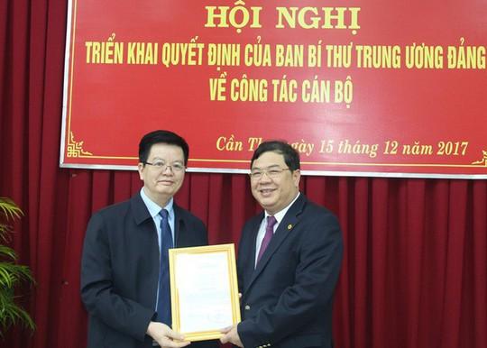 Phó bí thư Cần Thơ làm Phó trưởng Ban Nội chính Trung ương - Ảnh 1.