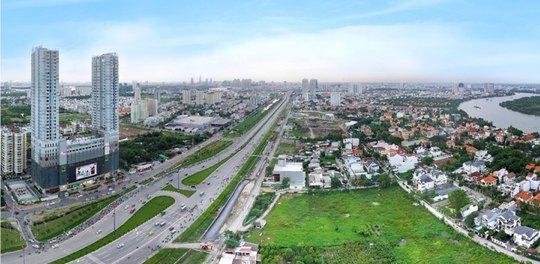 Giá đất khu Đông TP HCM biến động mạnh trong 10 năm qua, cuối năm 2006 đến quý I/2017.