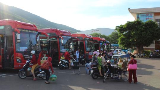Bến xe khách Trung tâm Quy Nhơn - nơi hành khách H. bị đột tử