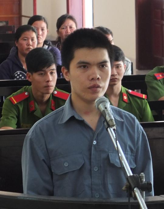 Bị cáo Trần Văn Sự tại tòa