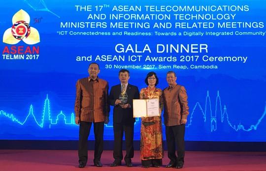 Phần mềm ngân hàng Việt chinh phục ASEAN ICT Awards - Ảnh 1.