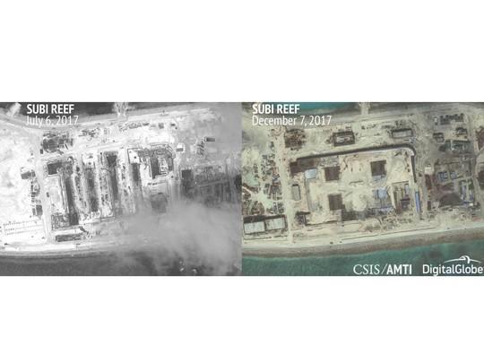 Trung Quốc gia tăng quân sự hóa biển Đông - Ảnh 1.