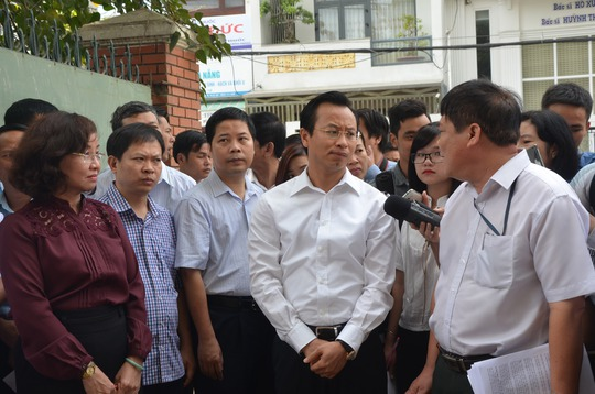 Bí thư Xuân Anh chỉ đạo mở rộng Bệnh viện Đà Nẵng để tránh tình trạng quá tải như hiện nay