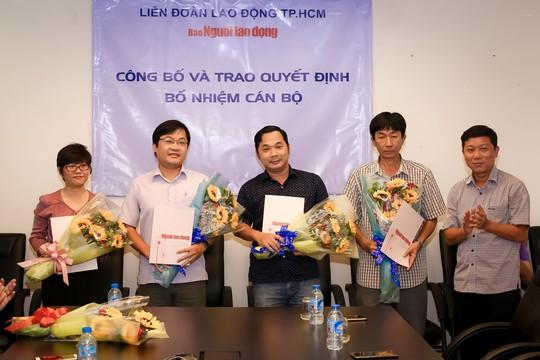 Báo Người Lao Động có 2 phó tổng biên tập mới - Ảnh 2.