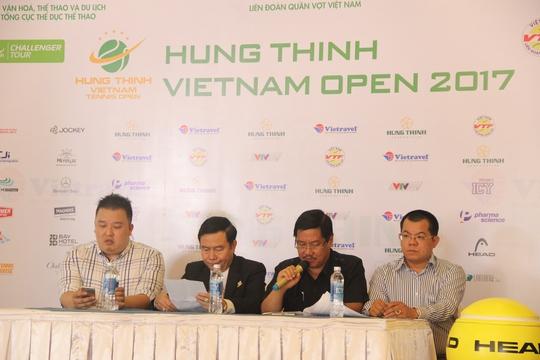 Lý Hoàng Nam chạm trán hạt giống số 5 tại Vietnam Open - Ảnh 2.