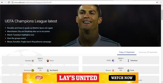 Hướng dẫn xem miễn phí Champions League - Ảnh 3.